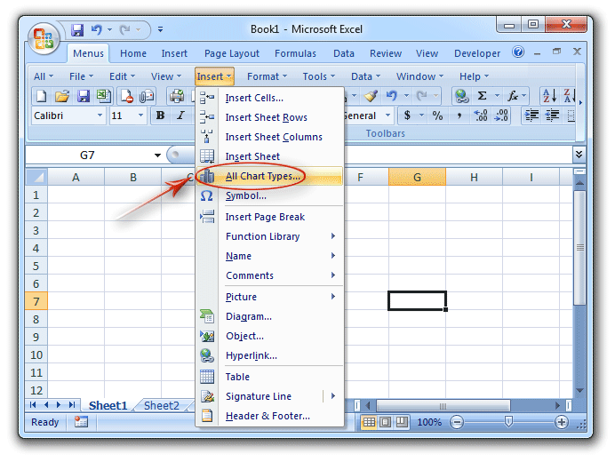 Where is chart tools in excel 2007 2010 2013 and 2016 find out chart tools from classic menu ccuart Gallery