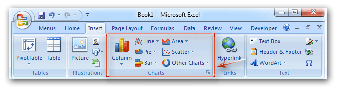 Where Is Chart Tools In Excel 2007 2010 2013 And 2016