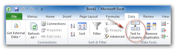 microsoft 2010 how to find miussing ribbon