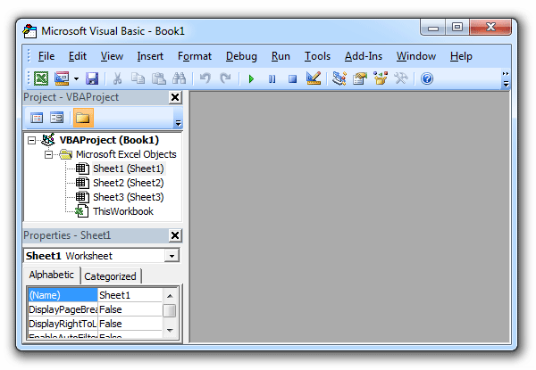 Where is Visual Basic Editor in Excel 2007, 2010, 2013, 2016