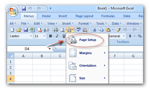 add page in excel 2007 how to add page border in excel 2007 print borders around. Black Bedroom Furniture Sets. Home Design Ideas