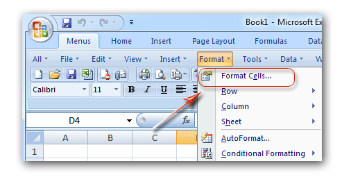 where is format cells in microsoft excel 2007 2010 2013 and 2016