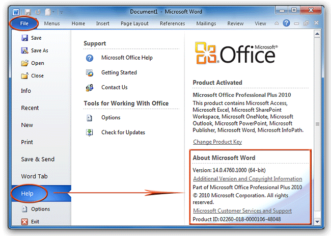 check office 2007 product key