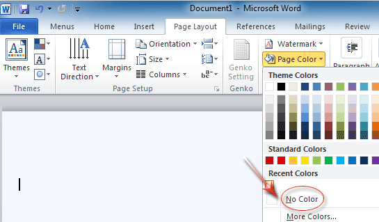 Figure 2 Backgournd Removal In Word 2010