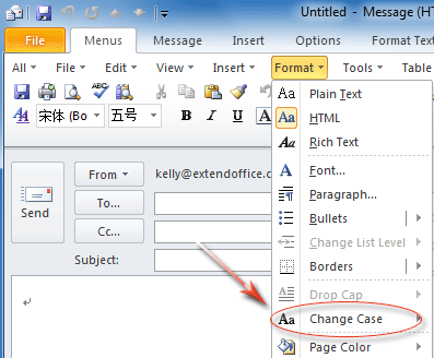 How to change all caps to lowercase in excel 2013 — pic 2
