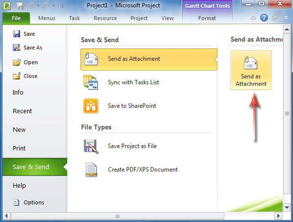 Where is E-mail in Microsoft Office 2007, 2010, 2013 and 365