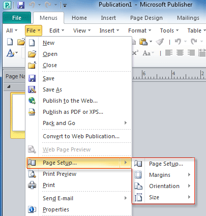 how to insert pdf into publisher 2013