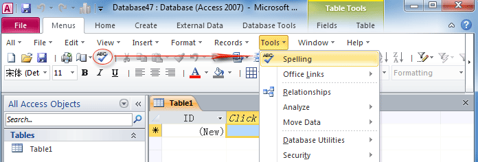 Where is Spelling Check in Office 2007, 2010, 2013 and 365