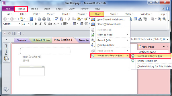 how to rotate a pdf in onenote