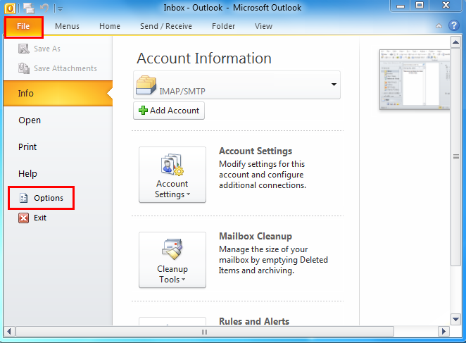 office outlook 2013 search not working
