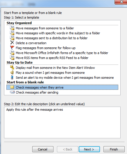 Set Out Of Office Auto Reply In Outlook 2003 2007 2010