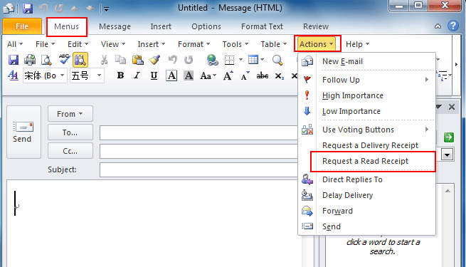 making receipts in microsoft words