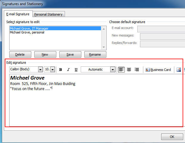 where is signature stored in outlook 2007  2010  2013