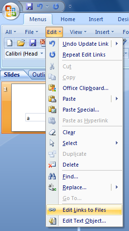 how to open link in powerpoint