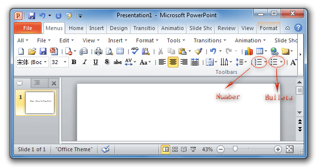 how to turn on auto numbering in word 2010