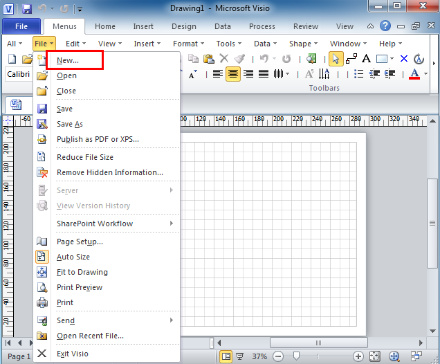 Where is reverse engineer in microsoft visio 2010 2013 and 2016 the reverse engineer can be easily found if you are using classic menu for office maxwellsz