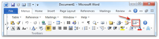 Where are the envelopes and labels in microsoft word 2007 2010 shot envelopes and labels in toolbars spiritdancerdesigns Gallery
