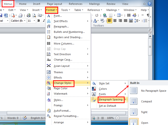 microsoft word how to bring one word in previous line
