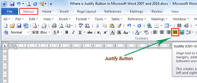 office word format
