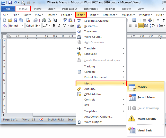 add reference in word