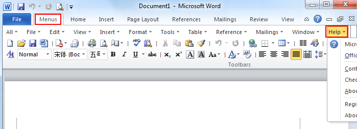 New Blog 3: Word 2007 Help