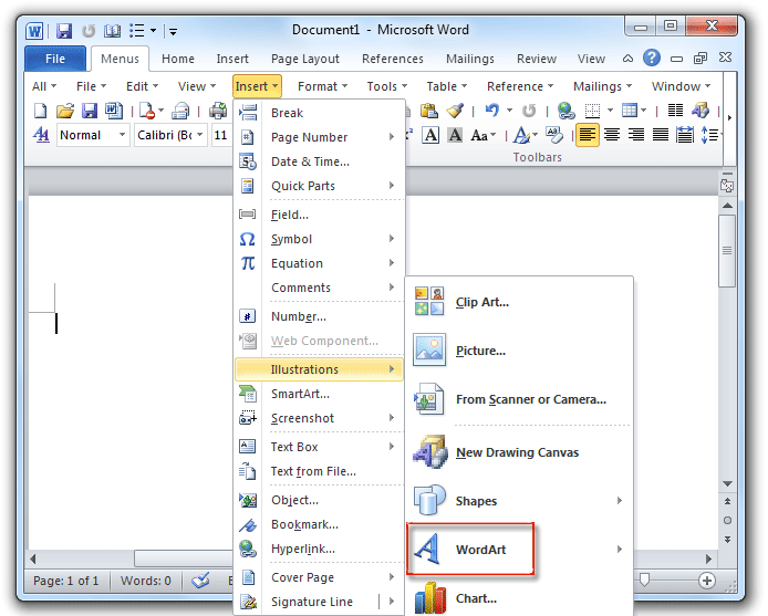Where to find templates in word