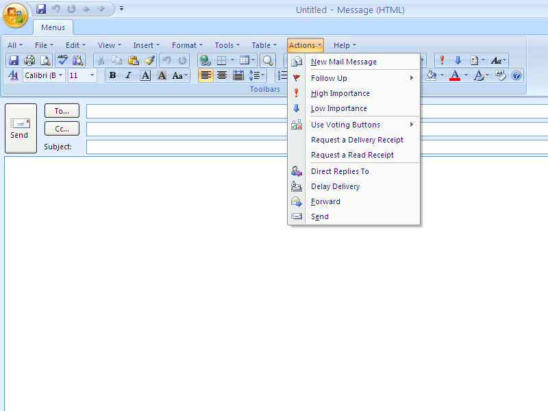 See more of Classic Menu for Outlook 2007