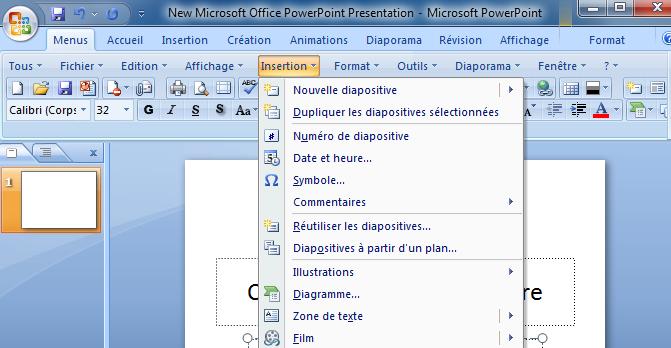 Affiche les menus classiques sur le ruban microsoft office - Office 2010 petite entreprise download ...
