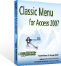 box of Classic Menu for Access 2007