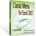 Box of Classic Menu for Excel