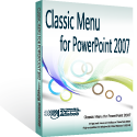 Box of Classic Menu for PowerPoint