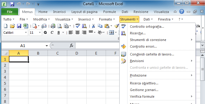 Opzioni Excel - How to use the