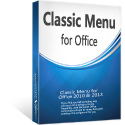box of Classic Menu for Office Enterprise 2010