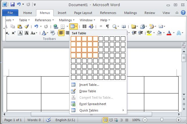 Click to view Classic Menu for Office 2010 Starter 64bit Downloa 2.1 screenshot