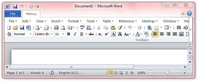 Where Is The Feature In Microsoft Word 2010