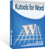 box of Kutools for Word
